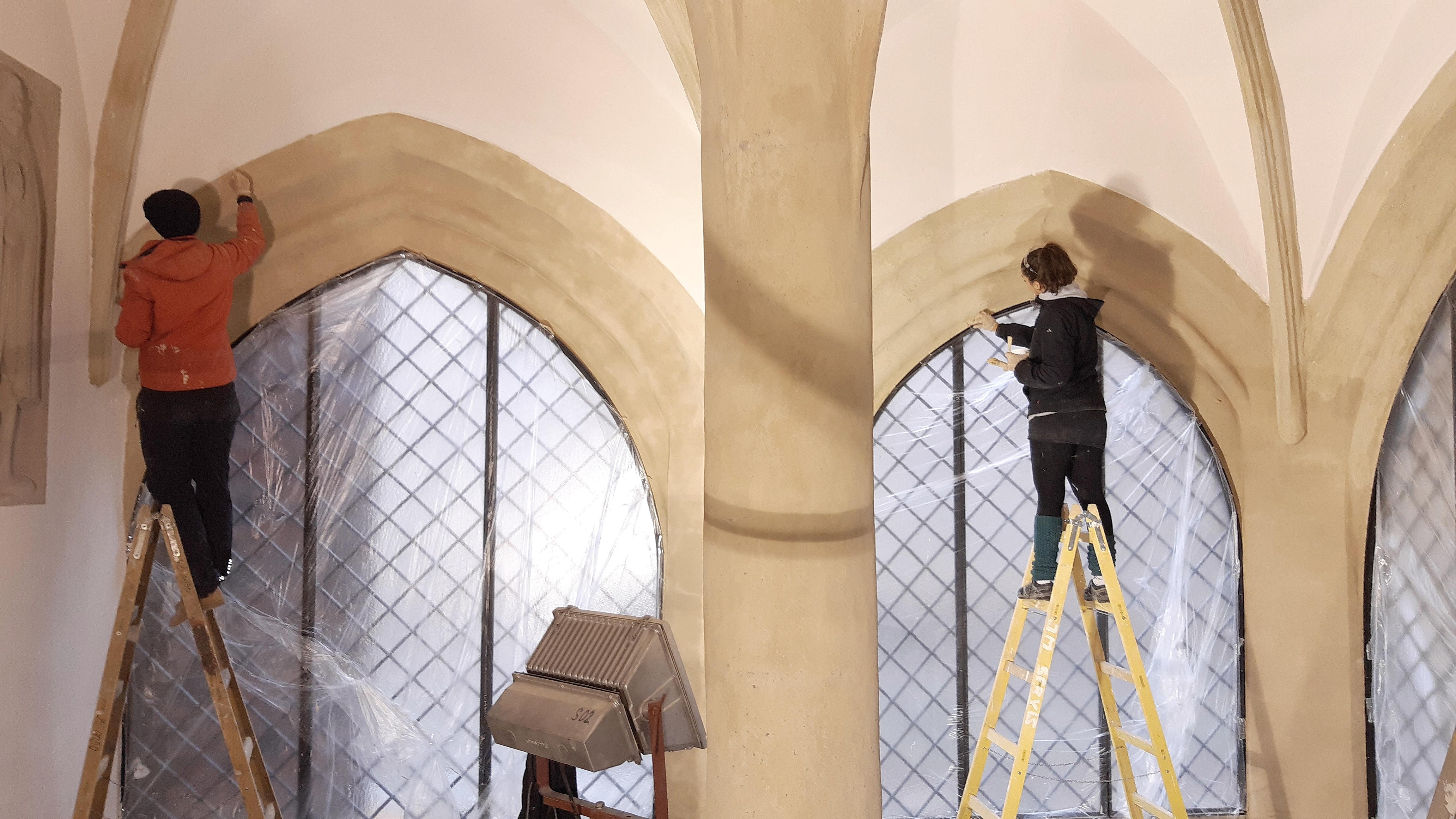 reprofilace gotických žeber