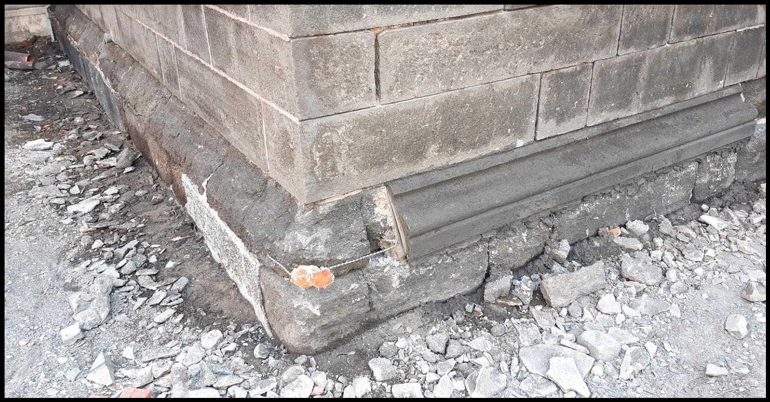románský cement, tufit